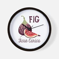 Fig Ficus Carica Wall Clock