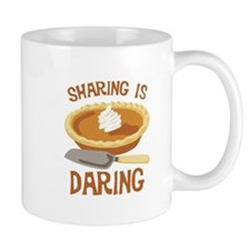 Sharing Is Daring Mugs