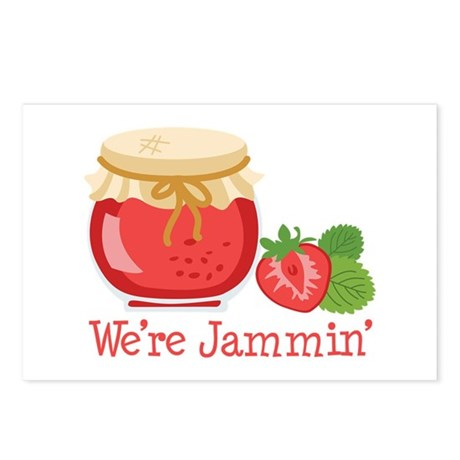 Were Jammin Postcards (Package of 8)
