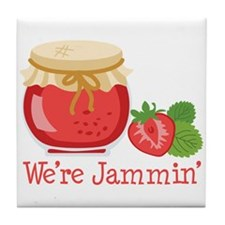 Were Jammin Tile Coaster