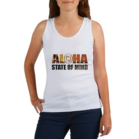 Sunset Aloha State of Mind Tank Top