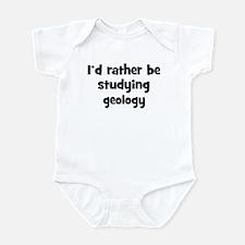 Study geology Infant Bodysuit