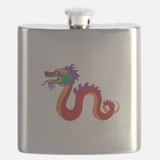 Chinese New Year Dragon Flask