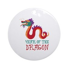Year Of The Dragon Ornament (Round)
