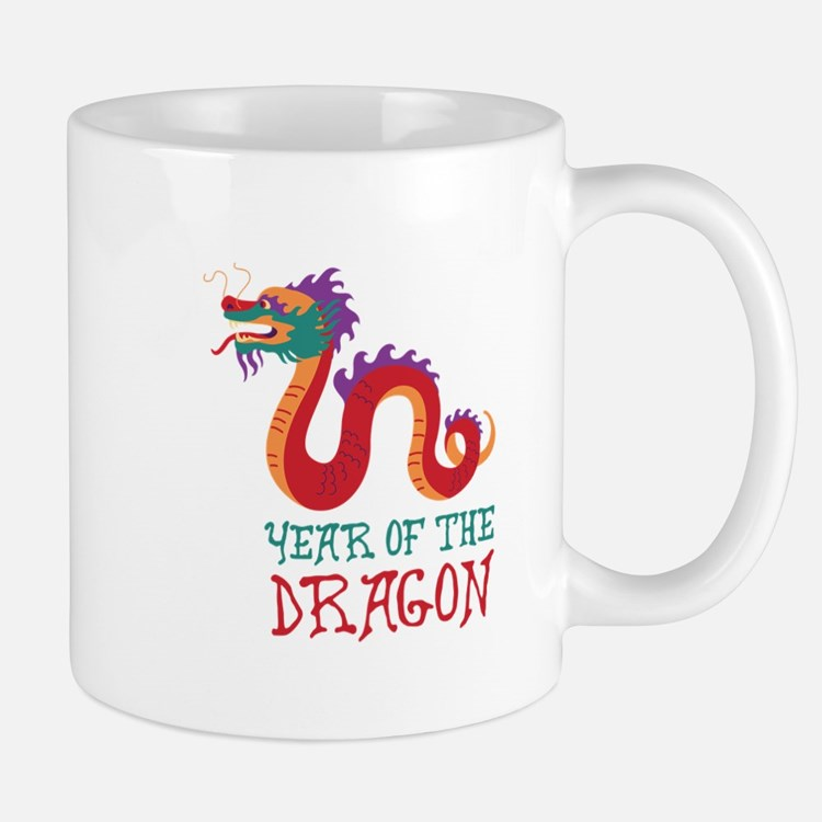 Year Of The Dragon Mugs