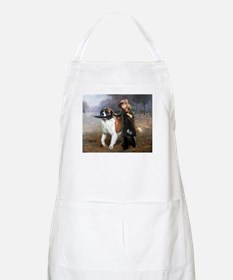A Little Girl and Her Dog Apron