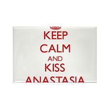 Keep Calm and Kiss Anastasia Magnets