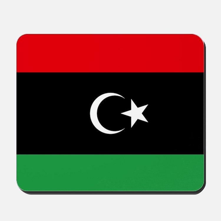 Flag of Libya Mousepad