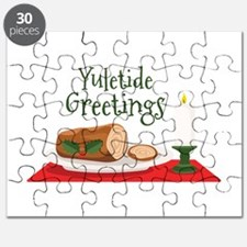 Yuletide Greetings Puzzle