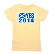Cute Independence for scotland. Girl's Tee