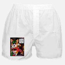 Irish Pub Corgi Boxer Shorts