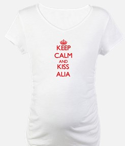 Keep Calm and Kiss Alia Shirt