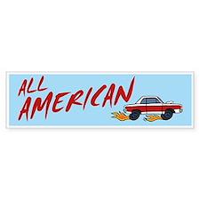 All American Bumper Bumper Sticker