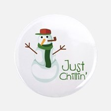 """Just Chillin 3.5"""" Button (100 pack)"""