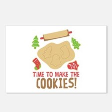 TIME TO MAKE THE COOKIES! Postcards (Package of 8)