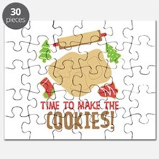 TIME TO MAKE THE COOKIES! Puzzle