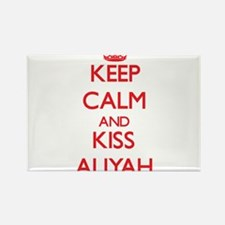 Keep Calm and Kiss Aliyah Magnets