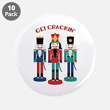 """GET CRACKIN 3.5"""" Button (10 pack)"""