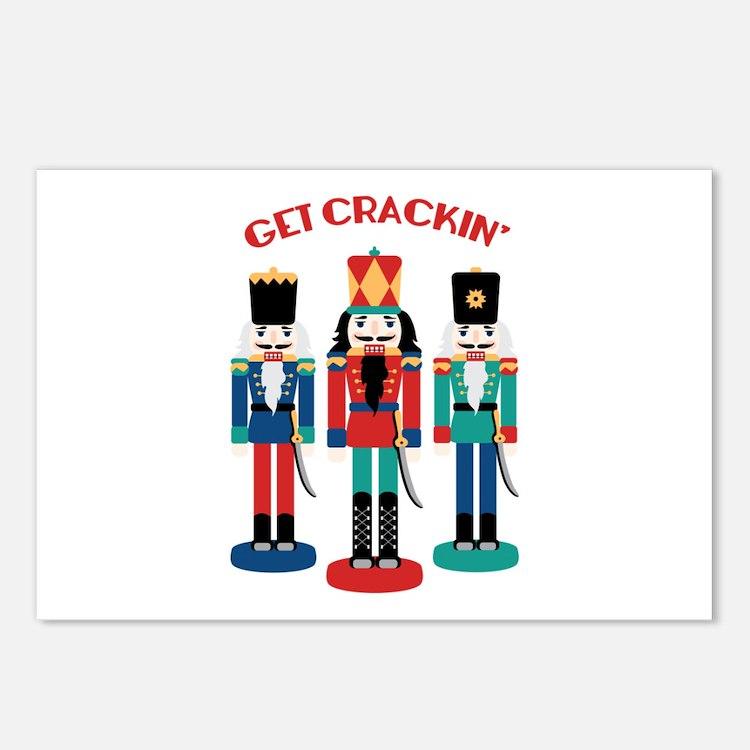 GET CRACKIN Postcards (Package of 8)