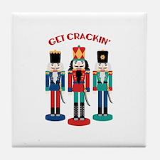 GET CRACKIN Tile Coaster