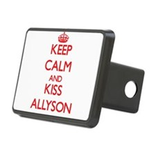 Keep Calm and Kiss Allyson Hitch Cover