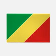 Congo Republic Flag Rectangle Magnet