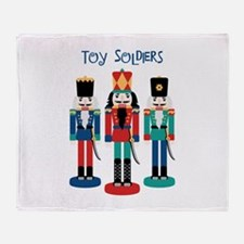 TOY SOLDIERS Throw Blanket