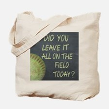 The Field Today Fastpitch Softball Motiva Tote Bag