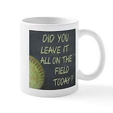 The Field Today Fastpitch Softball Moti Mug