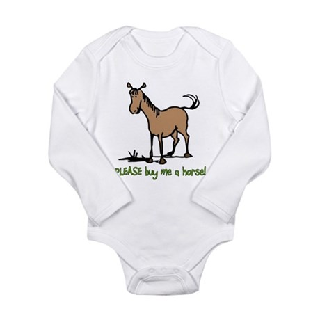 Buy me a horse saying Body Suit