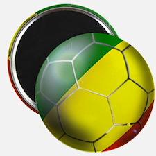 Congo Republic Football Magnet