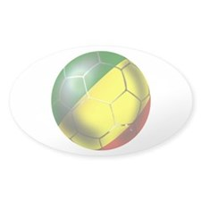 Congo Republic Football Decal
