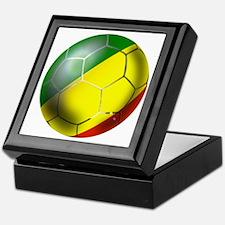 Congo Republic Football Keepsake Box