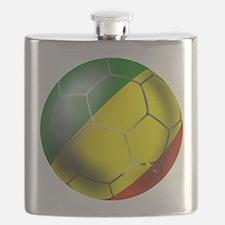 Congo Republic Football Flask