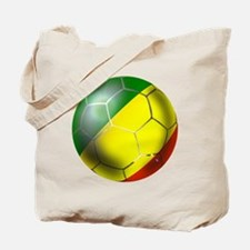 Congo Republic Football Tote Bag