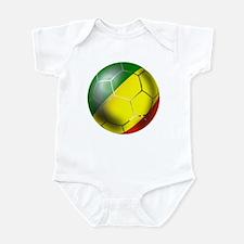 Congo Republic Football Infant Bodysuit