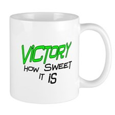 Victory How Sweet It Is Small Mug