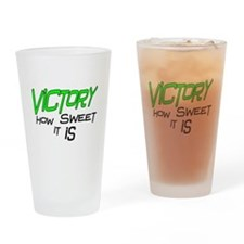 Victory How Sweet It Is Drinking Glass
