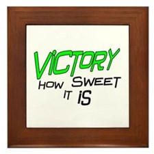 Victory How Sweet It Is Framed Tile