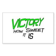 Victory How Sweet It Is Decal