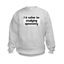Study optometry Sweatshirt