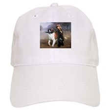A Little Girl and Her Dog Baseball Baseball Cap