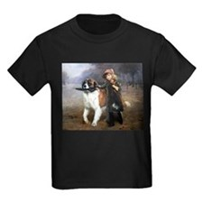 A Little Girl and Her Dog T-Shirt