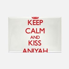 Keep Calm and Kiss Aniyah Magnets
