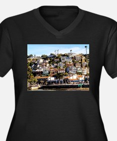 Houses On The Hill Plus Size T-Shirt
