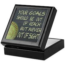 Your Goals Fastpitch Softball Motivat Keepsake Box