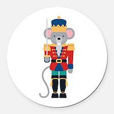 Nutcracker Ballet Story Mouse King Round Car Magne