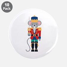 """Nutcracker Ballet Story Mouse King 3.5"""" Button (10"""