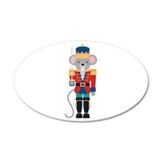 Nutcracker Ballet Story Mouse King Wall Decal