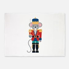 Nutcracker Ballet Story Mouse King 5'x7'Area Rug